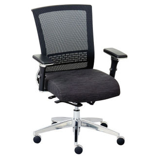 Array Fabric Seat Mesh Back Ergonomic Chair, C80023