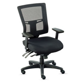 Perspective Mesh Mid-Back Chair, C80014