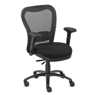 Mesh Back Fabric Seat Chair, C80434