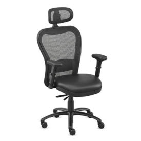 24/7 Ergonomic Task Chair with Memory Foam Seat and Headrest, C80435