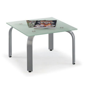 Symphony Glass Top End Table, W60525