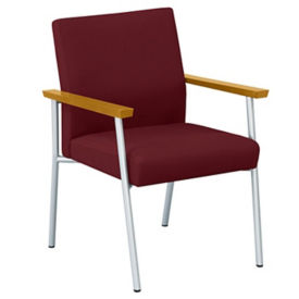 Fabric Guest Chair with Arms, C80235