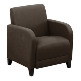 "Parkside Leather Guest Chair - 27""W, W60972"