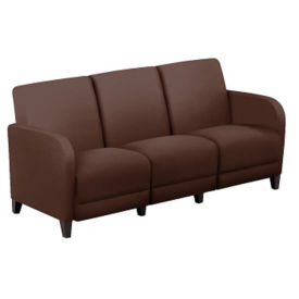 "Parkside Leather Sofa - 69.5""W, W60975"
