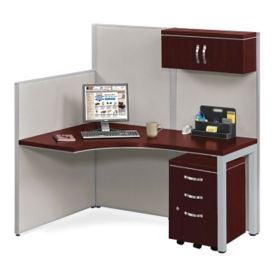 "61""W Instant Office Desk Station, D35672"