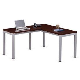 """Compact L-Desk 60""""D x 60""""W, D35708"""
