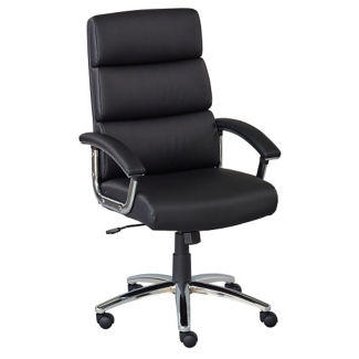 Segment Faux Leather Conference Chair, C90099