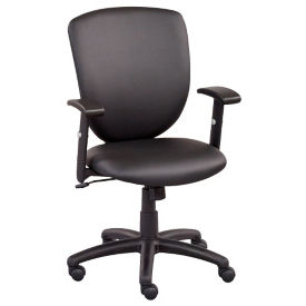 Network Faux Leather Task Chair, C80495