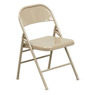 Triple Brace Steel Folding Chair, C57789