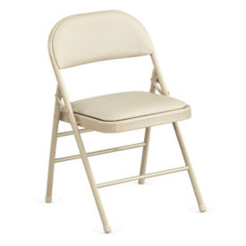 Folding Chair with Polyurethane Seat and Back, C57791