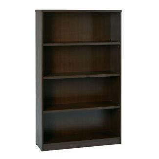 """Four Shelf Laminate Bookcase - 60""""H, B32230"""