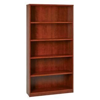 """Five Shelf Laminate Bookcase - 72""""H, B32231"""