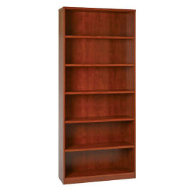 "Six Shelf Laminate Bookcase - 84""H, B32232"