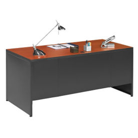 Double Pedestal Desk, D30204