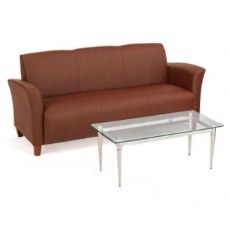 Flare Faux Leather Sofa, C80264