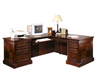 L Desk with Left Return, D35115