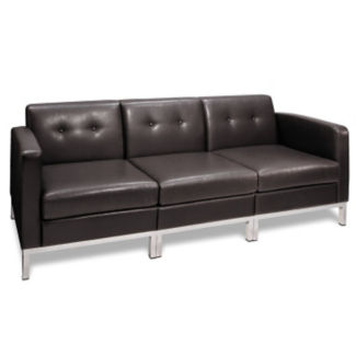 Faux Leather Sofa, W60435