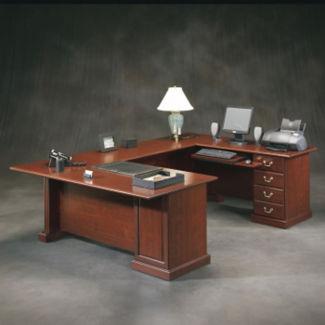 """Executive U-Desk - 71"""" D x 106"""" W, D30177"""