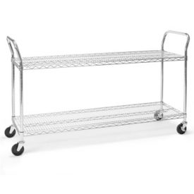 "Heavy Duty Mobile Cart 60""W x 18""D, B34423"
