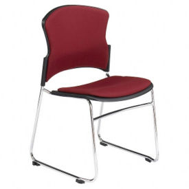 Armless Fabric Stack Chair, C67739