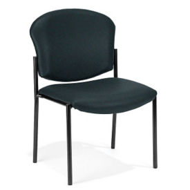 Armless Fabric Stack Chair, C67849