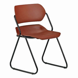 Armless Plastic Stacking Chair, C80105