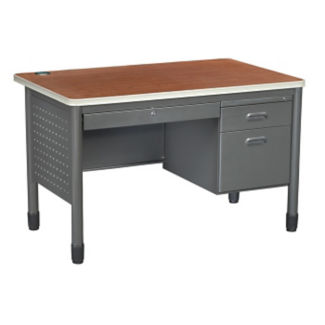 "47"" Single Pedestal Desk, D35079"