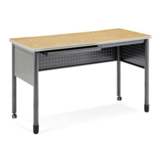 "Mesa Standing Height Desk - 55""W, D35663"