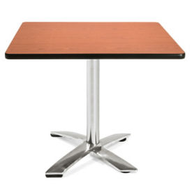 "Square Flip-Top Lunchroom Table - 36"" x 36"", T11476"