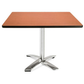 "Square Flip-Top Lunchroom Table - 42"" x 42"", T11478"