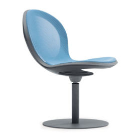 Steel Mesh Guest Chair with Swivel Base, C70376