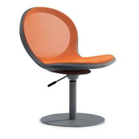 Steel Mesh Swivel Chair with Gas Lift, C70373
