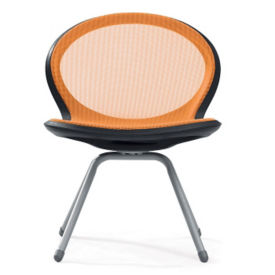 Steel Mesh Armless Guest Chair, C70369