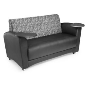 Sofa with Swivel Tablets, W60537