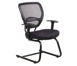 Guest Chair with mesh AirGrid Back, C80074