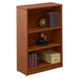 "Contemporary Three-Shelf Bookcase - 48"", B30555"