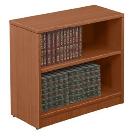 "Contemporary Two Shelf Bookcase - 30""H, B30557"