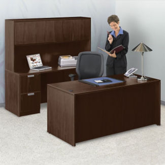 Contemporary Compact Office Set, D30251