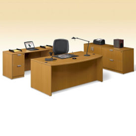 Contemporary Four Piece Executive Office Suite, D30254