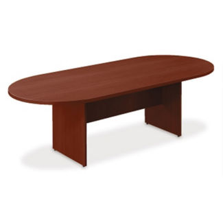 Contemporary Oval Racetrack Conference Table - 8 ft, T11806