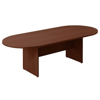 Contemporary Oval Racetrack Conference Table Ft T And - 6 ft conference table