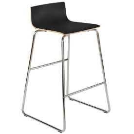 Laminate Low-Back Stool, K00092