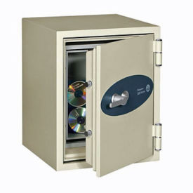 Fire Resistant Data Safe - .58 Cubic Ft Capacity, L40380
