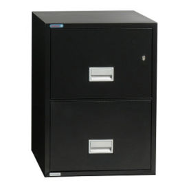 "Two Drawer Fire Resistant Vertical File - 25"" D, L40766"