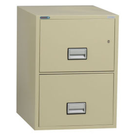 "Two Drawer Fire Resistant Vertical File - 25""D, L40768"