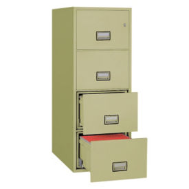 "Four Drawer Fire Resistant Vertical File - 25""D, L40769"