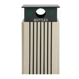 40 Gallon Recycling Receptacle for Bottles , R20297