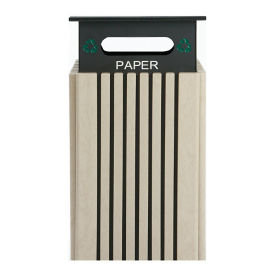 40 Gallon Recycling Receptacle for Paper , R20299