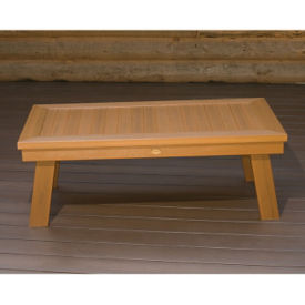 Synthetic Wood Outdoor Conversation Table, F10014