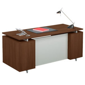 "Floating Top Executive Desk - 30""D x 71""W, D35588"